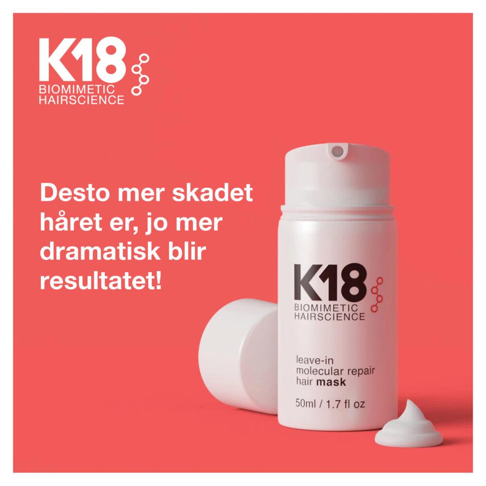 K18 Repair Mask